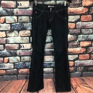 Hudson Slim Bootcut Jeans Flap Pockets
